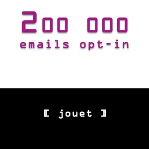 emailing jouet